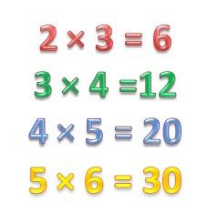 учить таблицу умножения