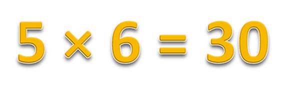 5 × 6