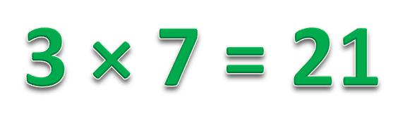 3 * 7