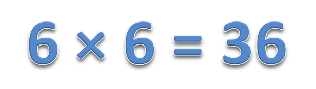 6 × 6