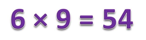 6 × 9