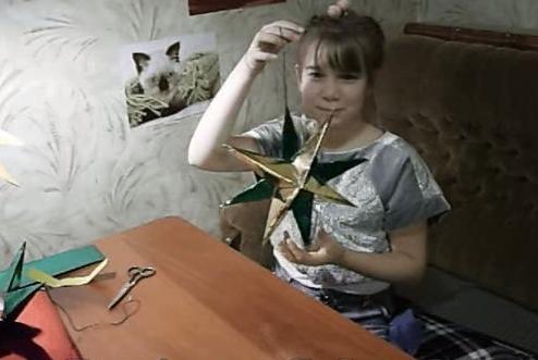 Звездочка - елочная игрушка своими руками