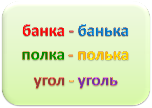 мягкий знак в середине и в конце слова